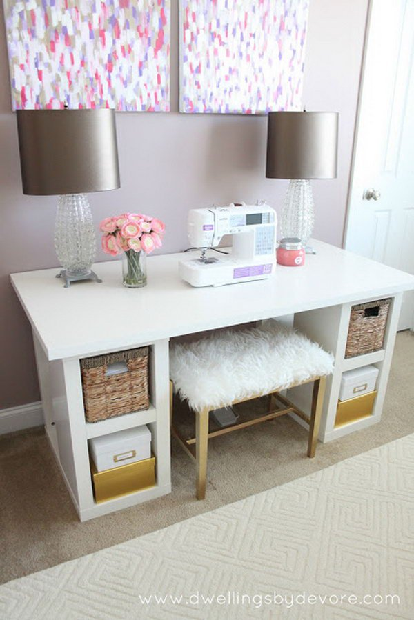 Awesome IKEA Desk Hacks