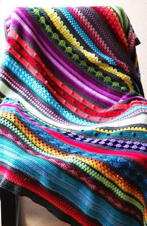 16-cool-easy-crochet-blankets