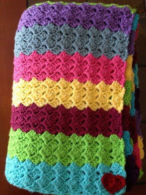 18-cool-easy-crochet-blankets