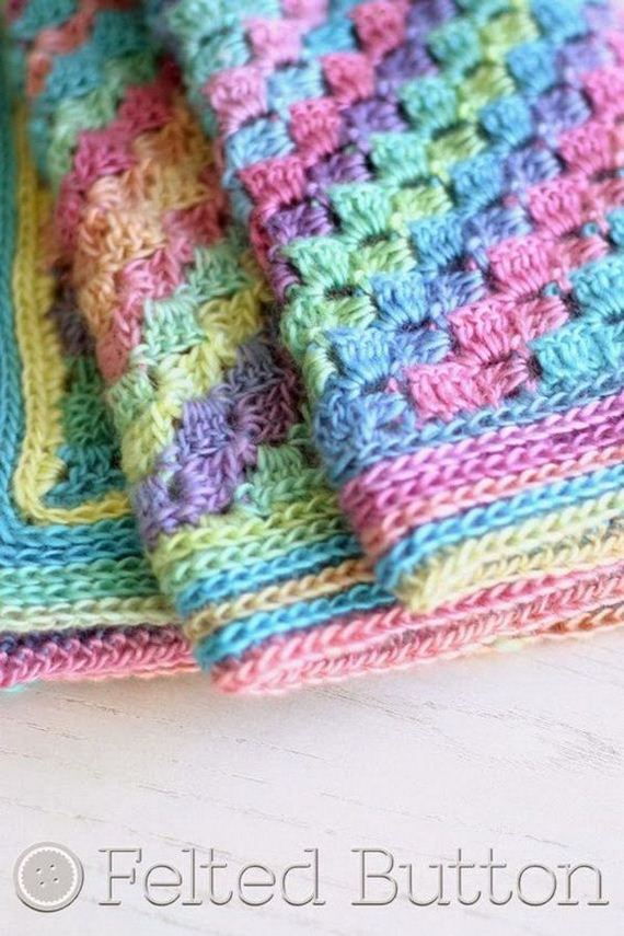 25-cool-easy-crochet-blankets