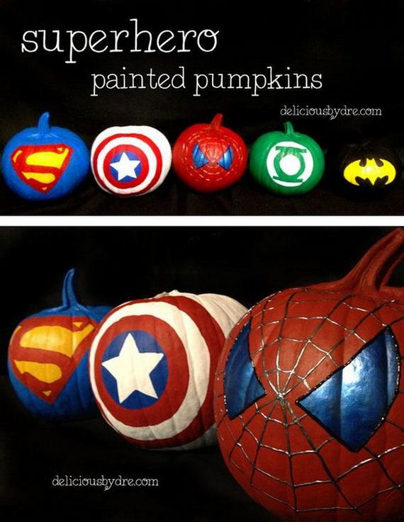 Cool pumpkin decorating ideas Easy pumpkin painting patterns