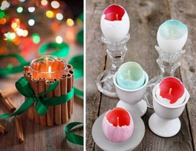 Amazing DIY Candle Projects