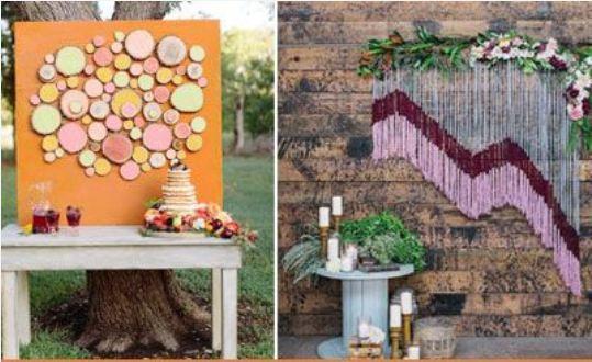 Amazing Backdrop Ideas