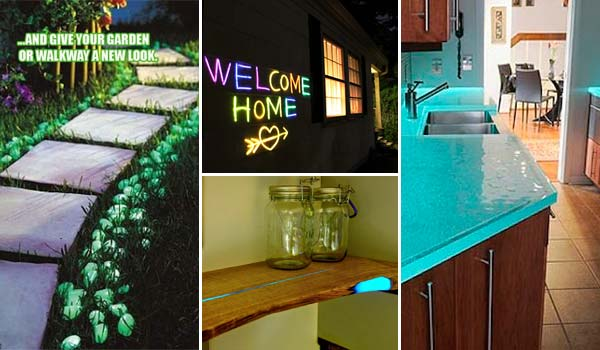 Cool Glow-In-The-Dark Projects
