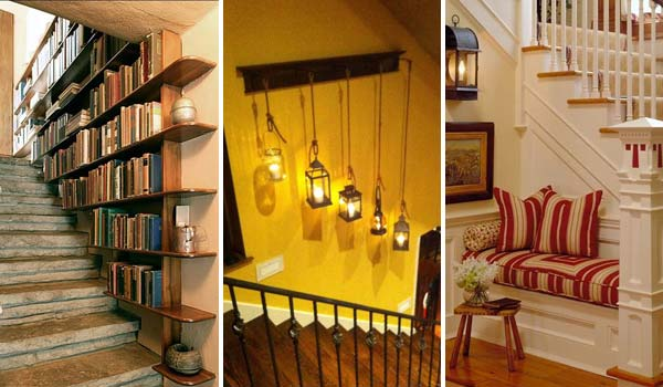 Awesome Ideas to Decorate Your Staircase Space