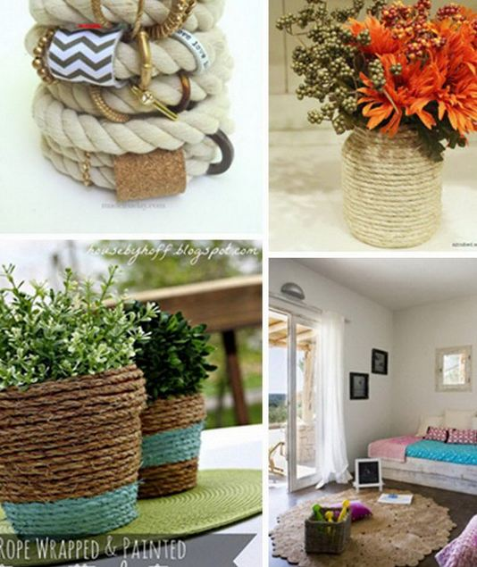 Diy Rope Craft Projects To Do At Home: DIY Rope Crafts
