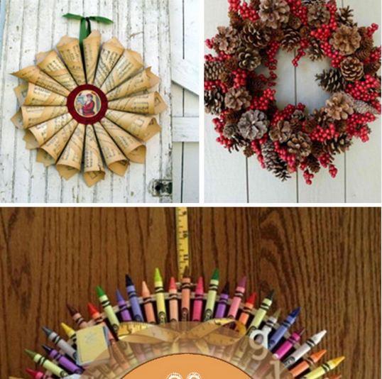 Amazing Wreath Ideas for Christmas