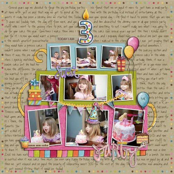 Awesome Scrapbook Ideas