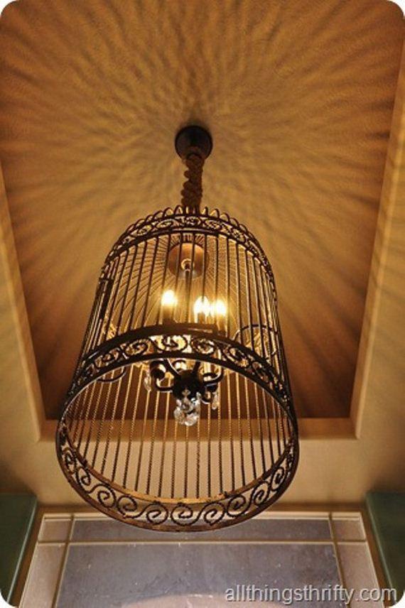 Diy chandelier kit that s diy a stellar chandelier kit mydomaine 4 light antique brass shade - Diy chandelier kit ...