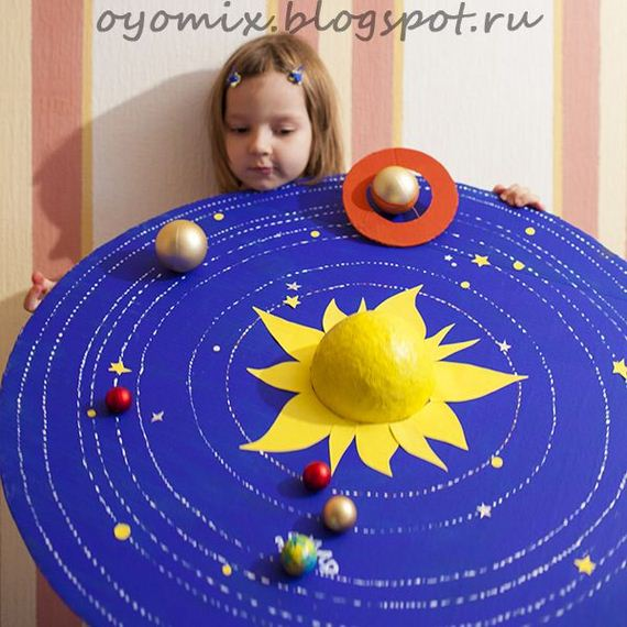 171 Best Project Ideas Images On Pinterest: Cool DIY Solar System Projects For Kids