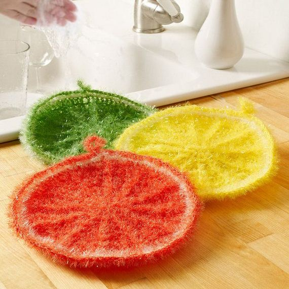 Easy Crochet And Knitted Dishcloth Patterns