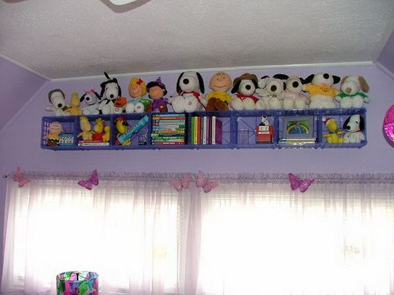 How to Organize Kids' Stuffed Toys