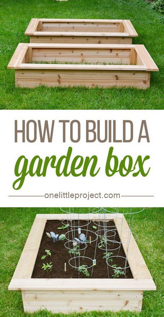 cool diy raised garden bed ideas
