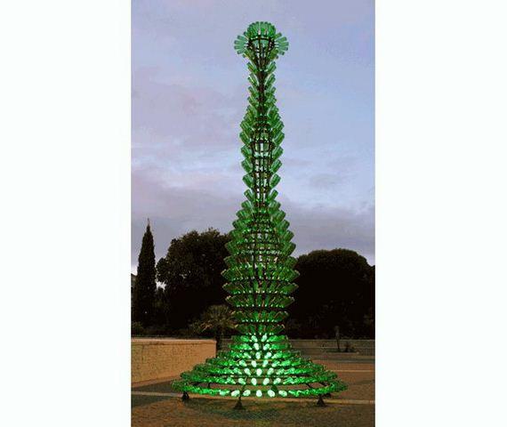 Wine Bottle Christmas Tree Diy.Amazing Diy Wine Bottle Crafts