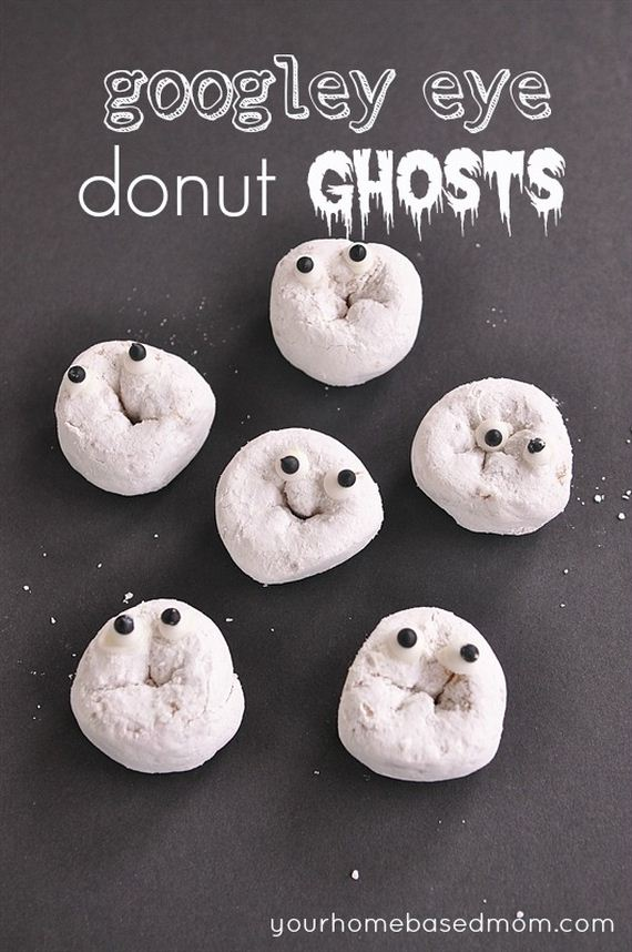 googly eye donuts