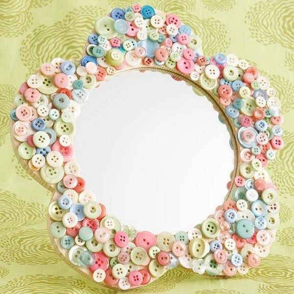 Simple And Easy DIY Button Crafts