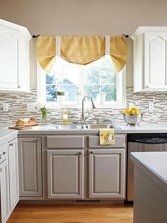 Balck Kitchen Island And White Cabinets