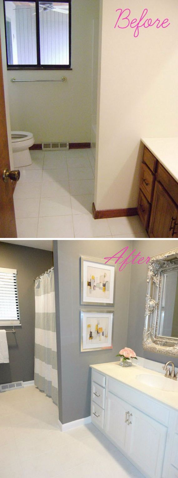 Unique Bathroom Makeovers