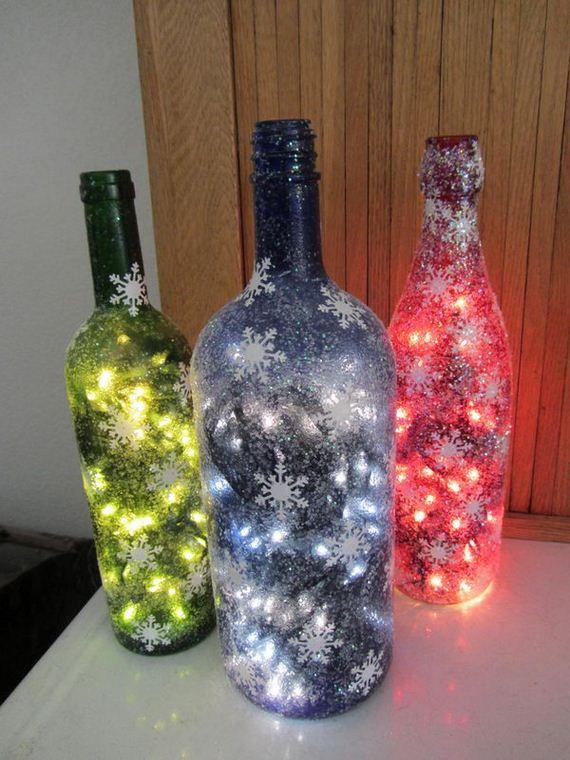 Amazing diy wine bottle crafts - Craft ideas with wine bottles ...