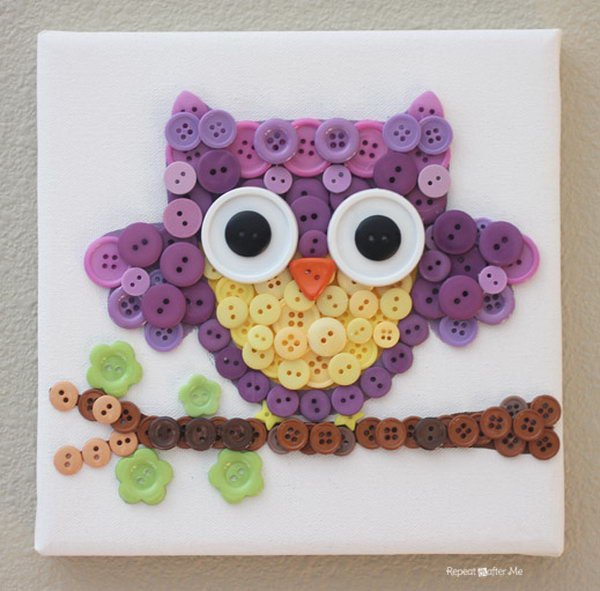 button craft ideas make awesome diy button crafts 3489