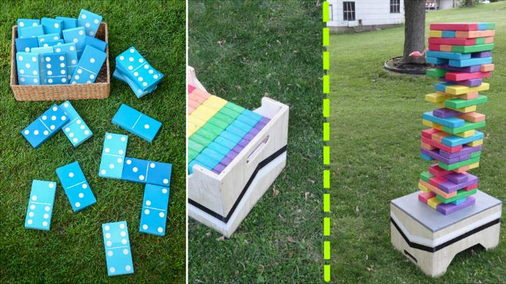 Amazing DIY Outdoor Family Games