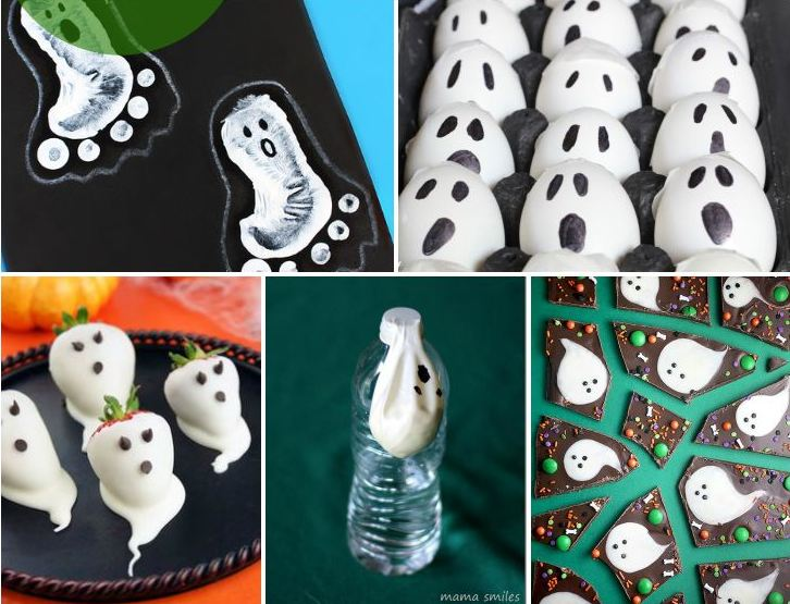 Amazing DIY Ghost Crafts and Treats