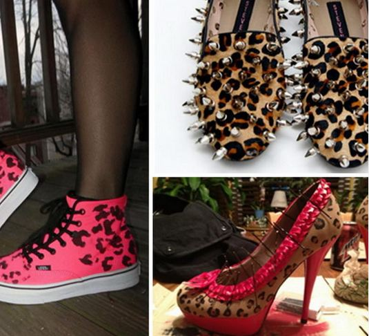 Unique Leopard Print Shoes Tutorials