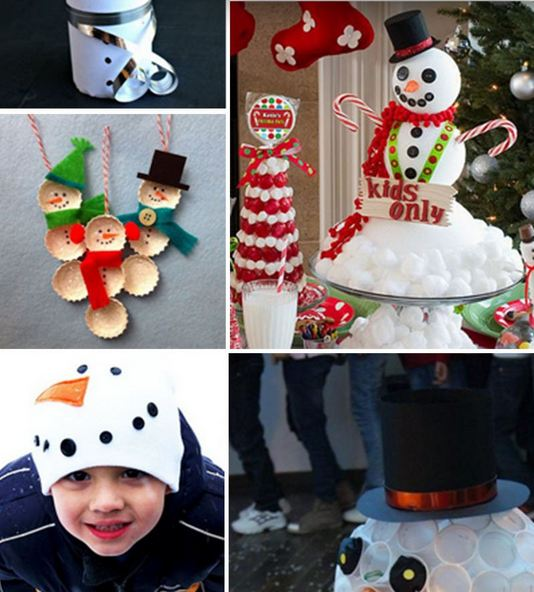 Awesome DIY Snowman Crafts