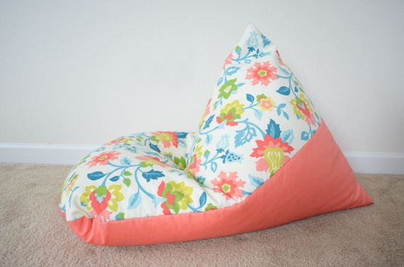 Amazing DIY Bean Bag Chairs