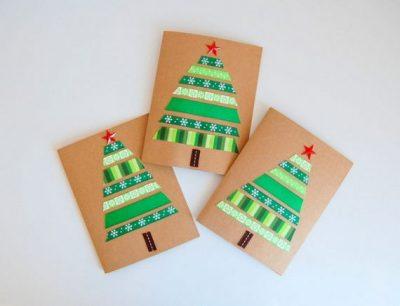 50 Amazing DIY Christmas Cards