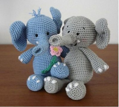 Amazing Crocheted Elephant Tutorials
