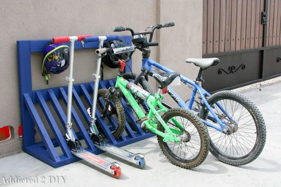 Great DIY Bikes Racks