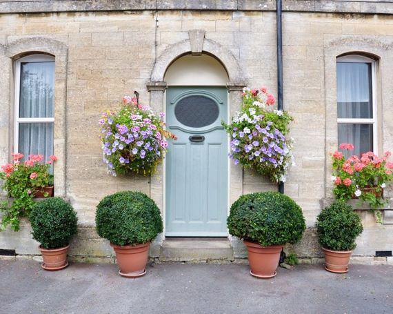 Amazing Front Door Flower Decorations