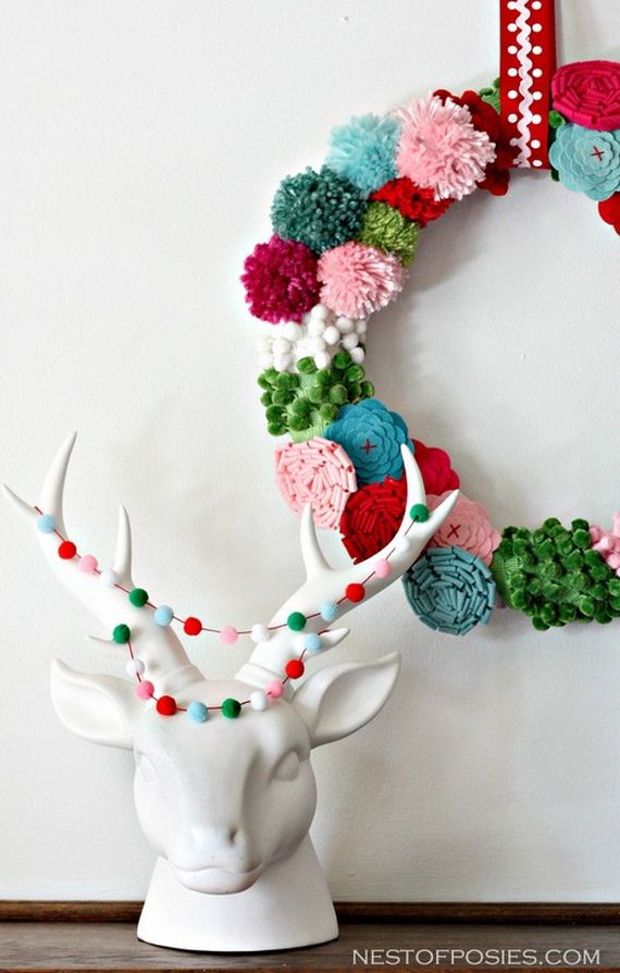 Awesome christmas wreath tutorials for Amazing wreaths