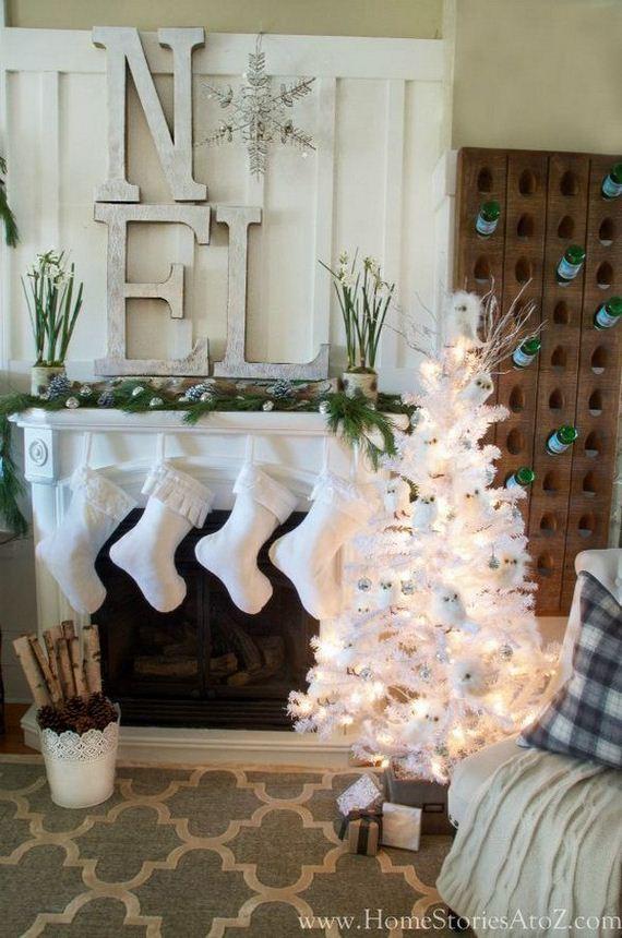 Awesome Christmas Mantel Decoration Ideas