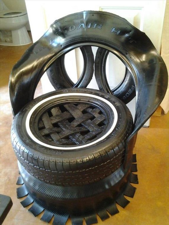 How to recycle old tires for How to recycle old tires