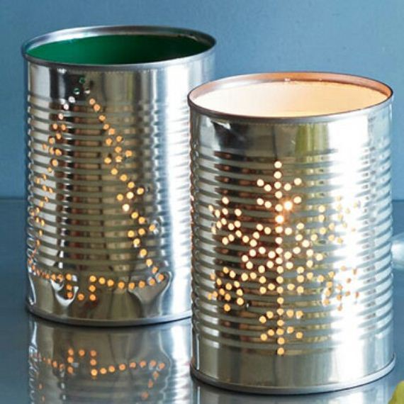Amazing diy ideas using tin cans for Tin can diy ideas