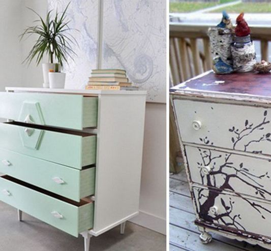 Amazing DIY Painted Furniture Ideas