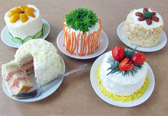 Delecious Swedish-Inspired Savory Sandwich Cakes
