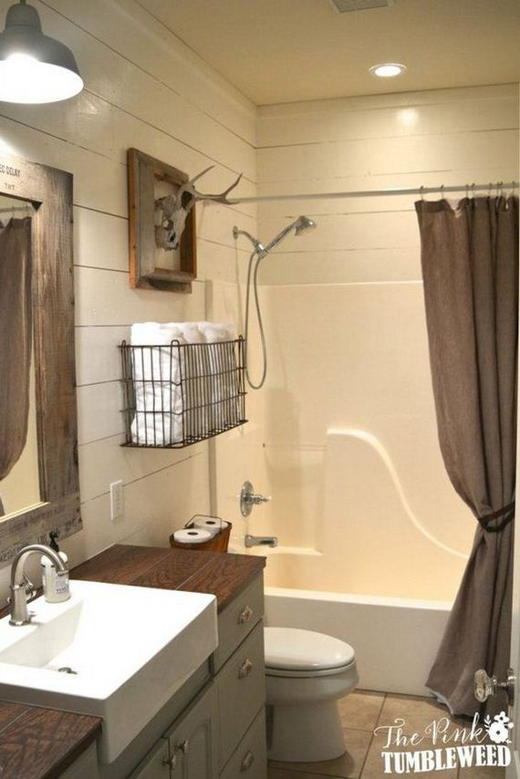 2 rustic bathroom ideas - Bathroom Ideas Rustic