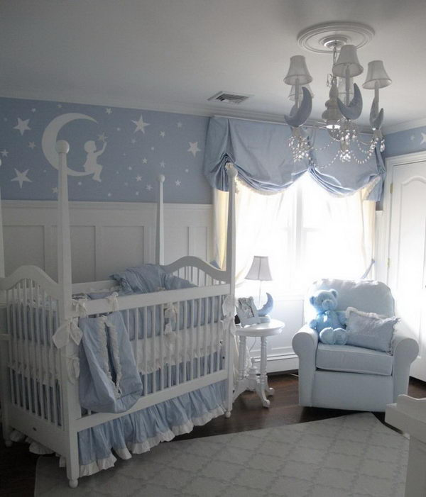 20 Beautiful Baby Boy Nursery Room Design Ideas Full Of: Amazing Nursery Decorating Ideas
