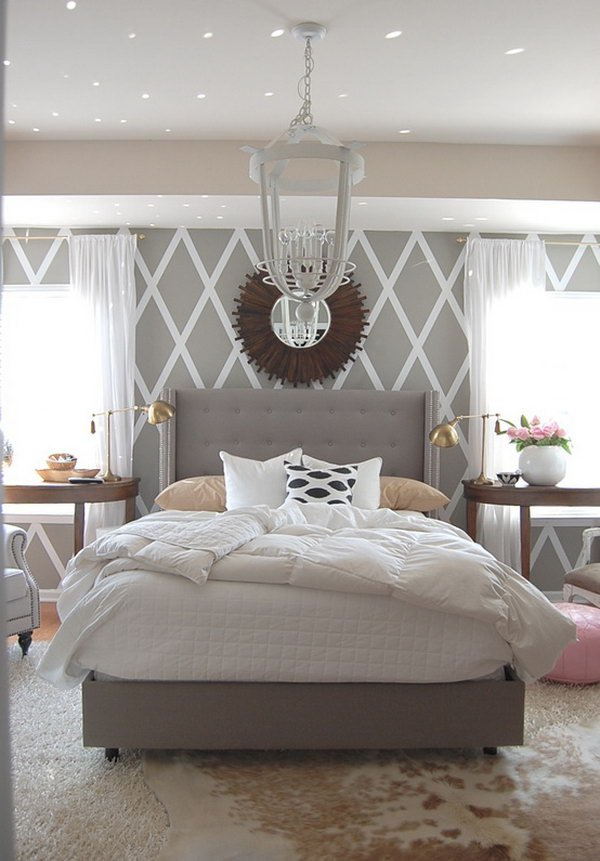 25 master bedroom painting ideas - Gray Bedroom Painting