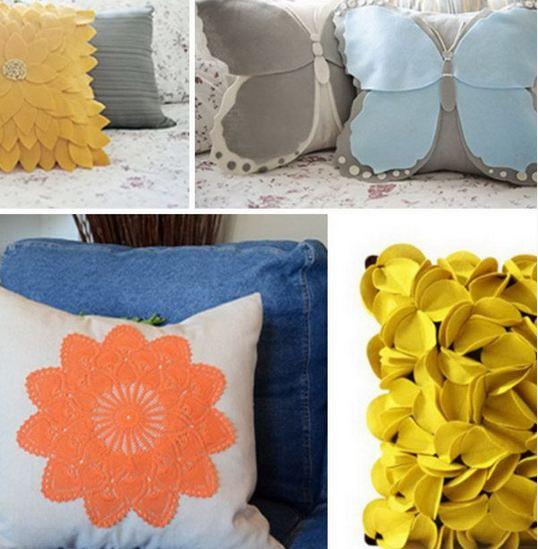 Cool DIY Pillow Tutorials