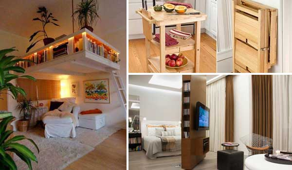 Amazing Clever Space Saving Interiors