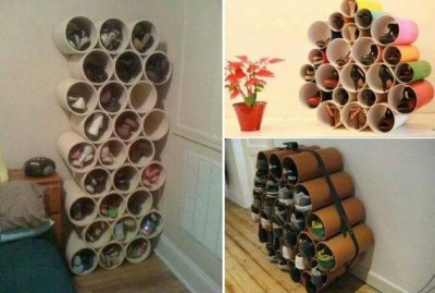 Amazing Homemade PVC Pipe Shoe Rack Tutorial