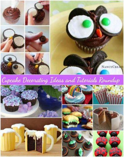 Awesome DIY Surprise Cupcake Tutorials