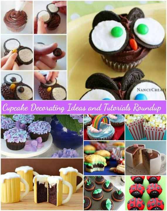 Awesome DIY Surprise Cupcake Tutorials