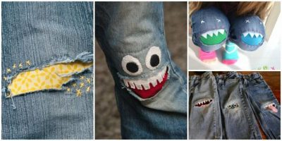 How to Mend Jean Holes Tutorial
