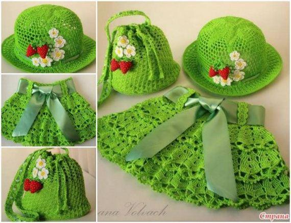 Amazing DIY Pretty Crochet Girls Sun Hat