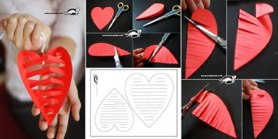 Amazing 3D Paper Heart